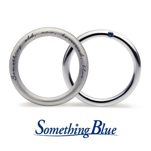 """ジュエリーネモト】Something Blue・Fortune Spell 結婚指輪 結婚指輪(女性用):¥108,000(税込) ~ 結婚指輪(男性用):¥108,000(税込) ~ マザーグースの物語の中で語り継がれてきた「Something Four」の幸せのおまじないをそのままリングに閉じ込めました。結婚式の日に約束された""""幸せな未来""""にいつも想いをはせて。 写真【左】SB-868 \110,160 【右】SB-865 \108,000(消費税8%を含む価格です) マテリアル(K18YG・K18PG)の変更が可能です。"""